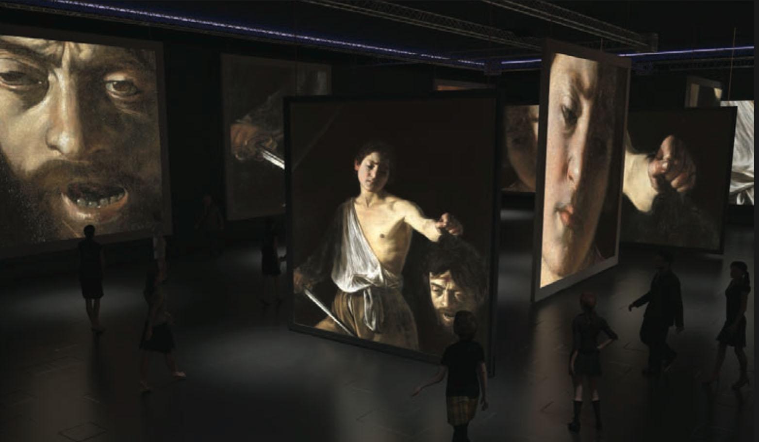 """Caravaggio Experience a Palermo: un """"viaggio immersivo"""" nell'arte del pittore italiano"""