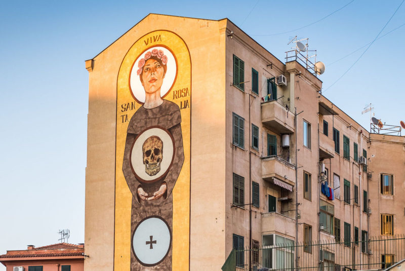 murales palermo santa rosalia